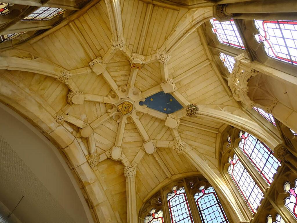 St Vincent's Church, Sheffield Ceiling