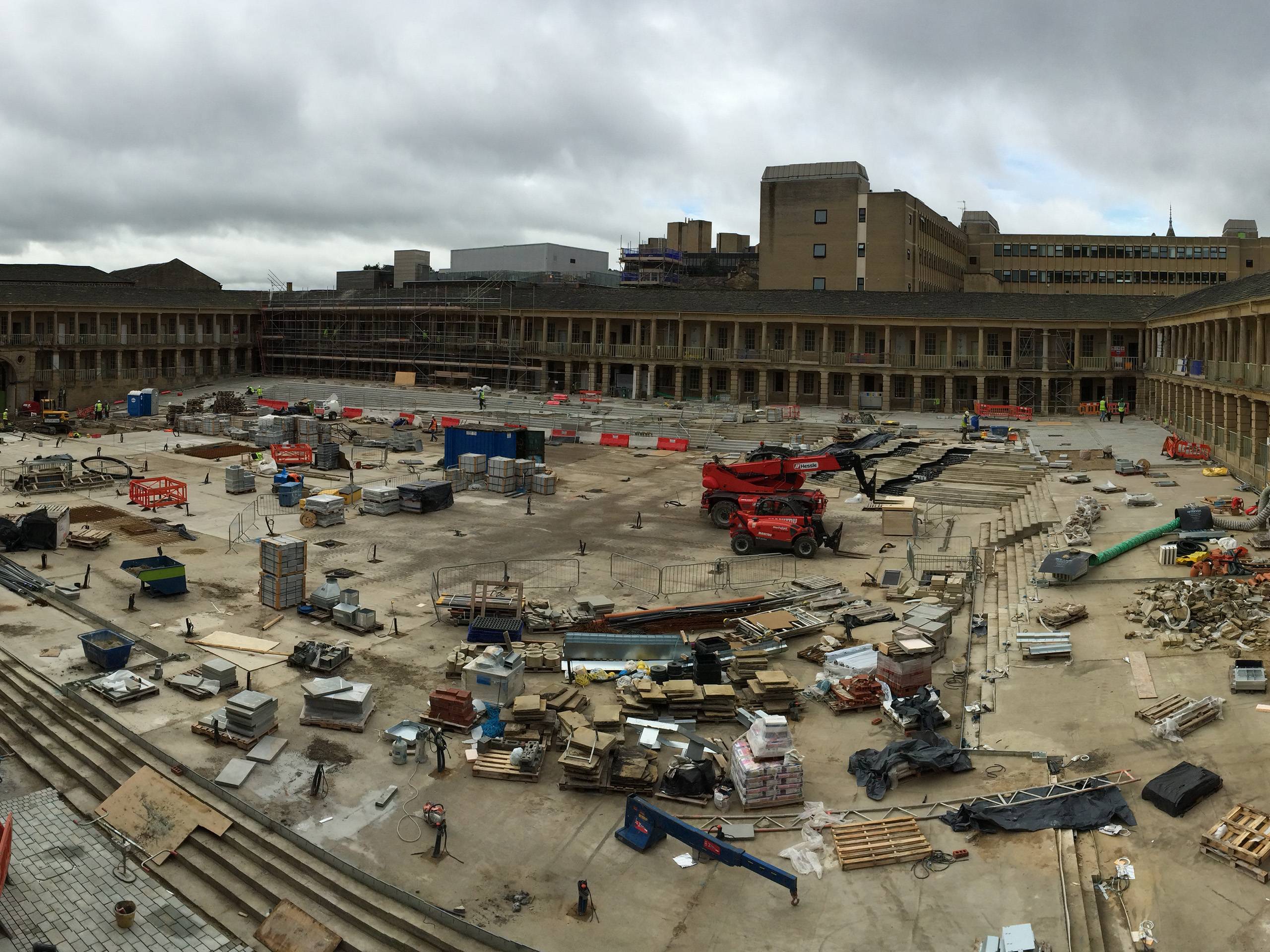 Stone Edge Piece Hall Scale of Project