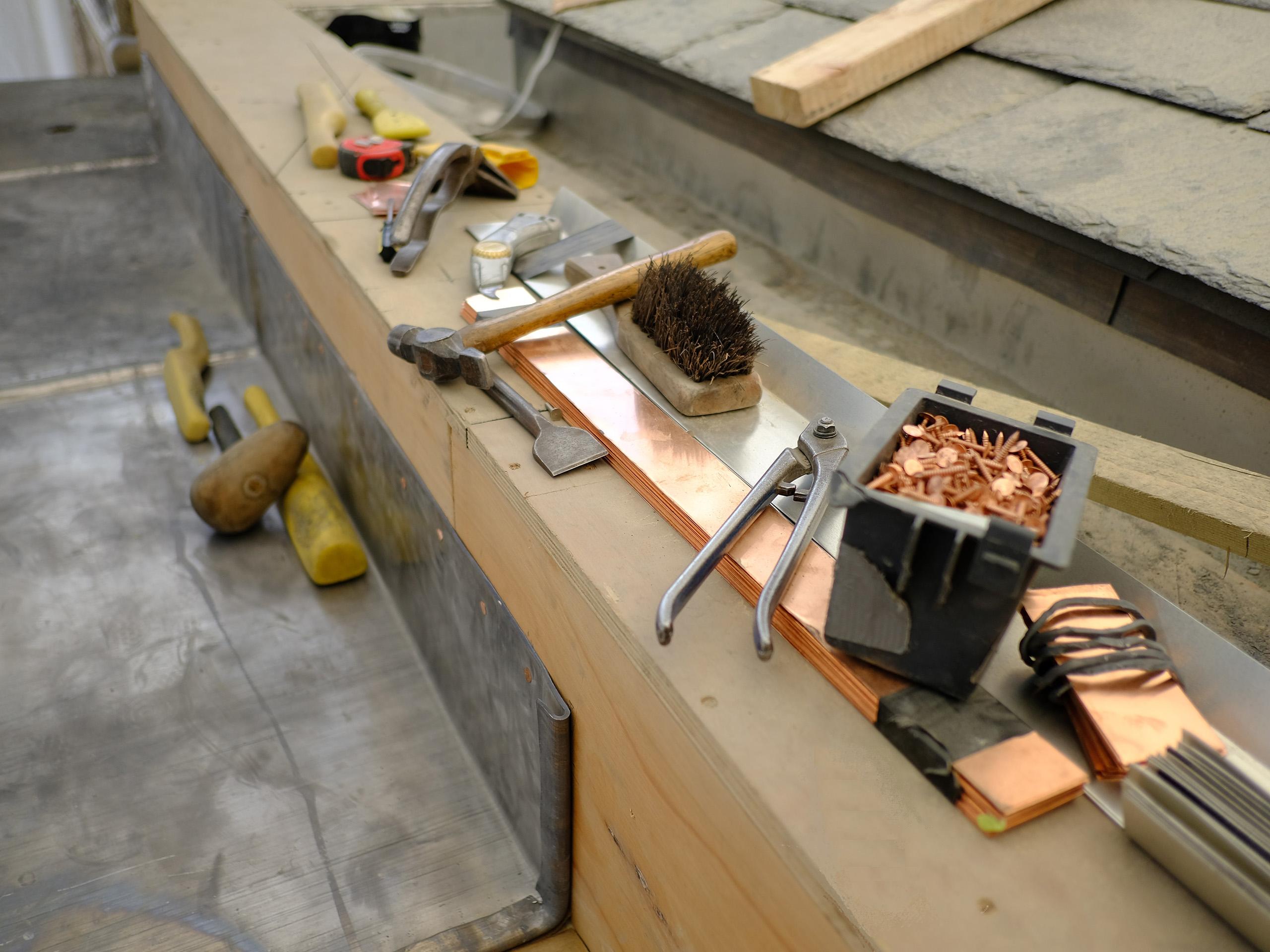 Stone Edge Roof leadwork 1